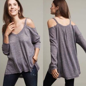 Anthropologie Millipa Open-Shoulder Top Size Small